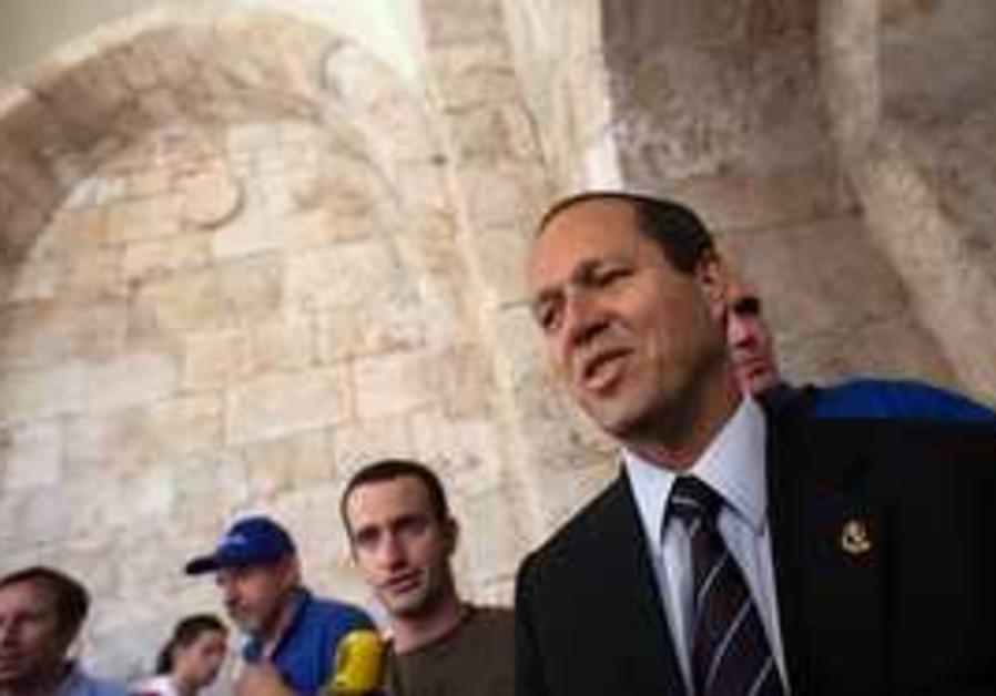Jerusalem Mayor Nir Barkat.