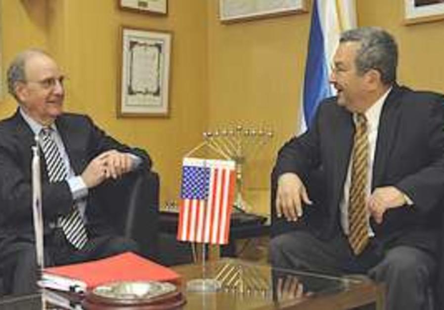 Barak and Mitchell meet in TA.
