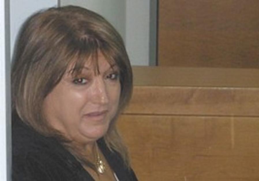 Shula Zaken in court.
