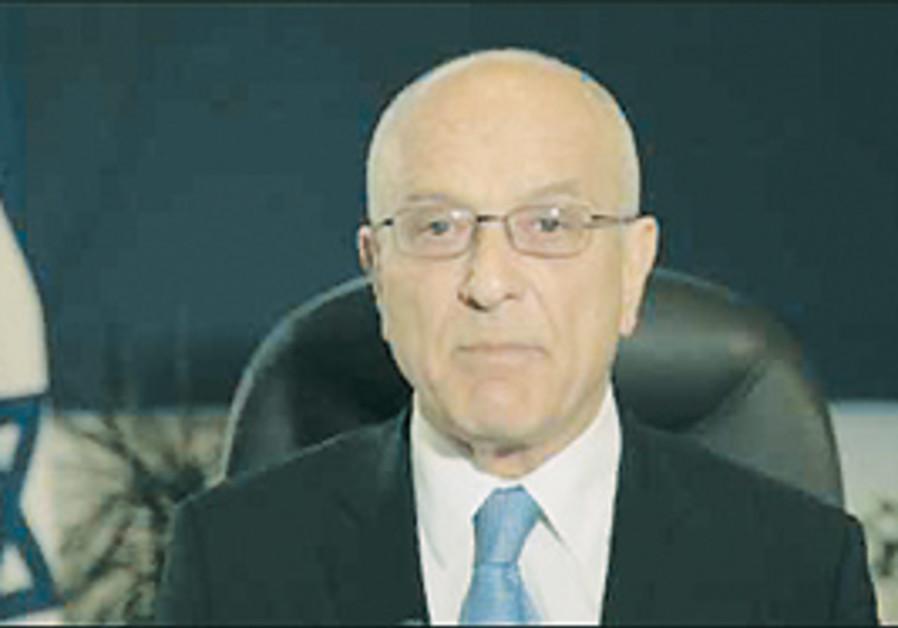 Israel's ambassador to Germany, Yoram Ben-Zeev.