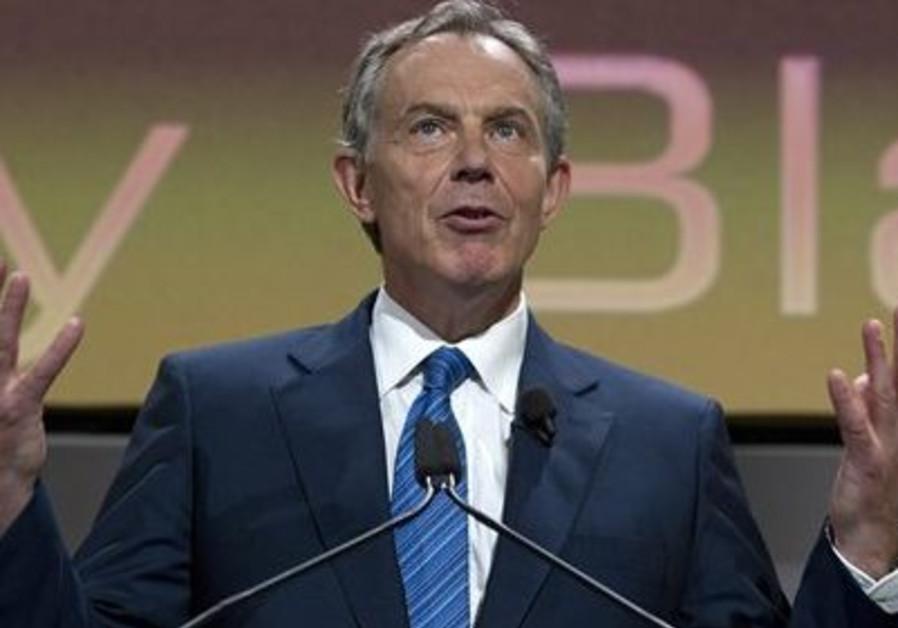 Tony Blair- expresive