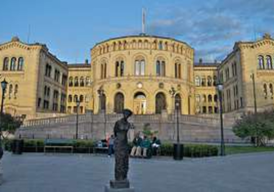 norweigan parliament, where the oslo forum is bein