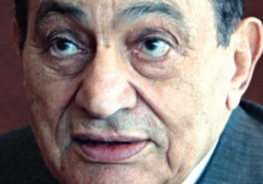 EGYPTIAN PRESIDENT Hosni Mubarak last week.