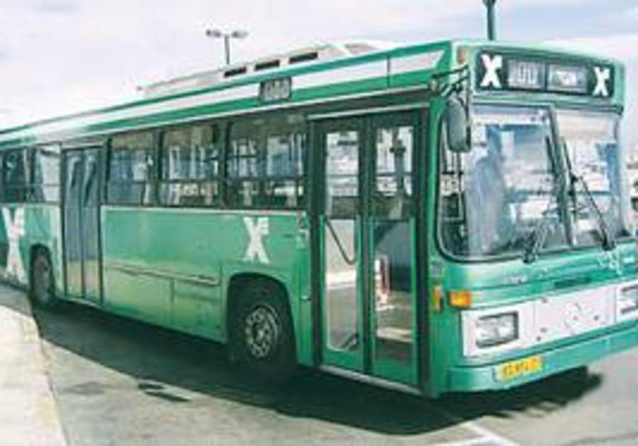 egged bus