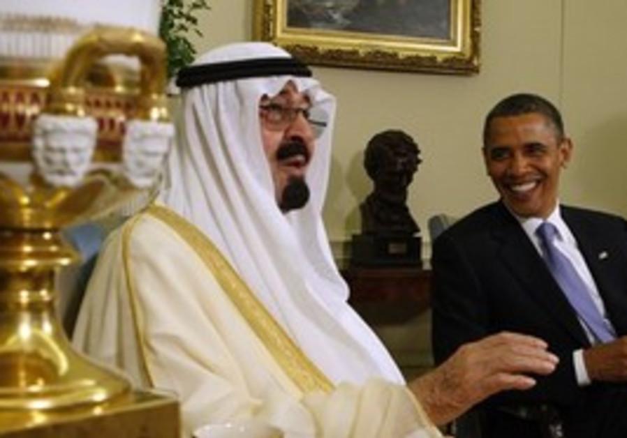 Obama and King Abdullah