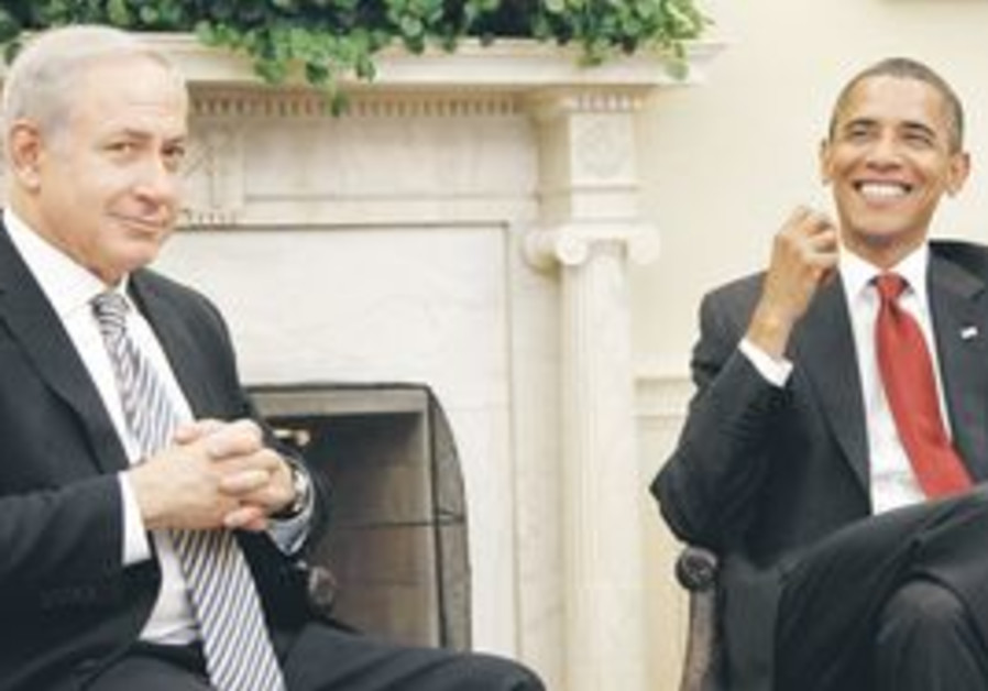 Netanyahu and Obama meet at the White House