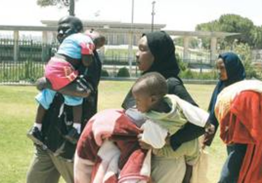 'DO NOT have mercy on them'? An African family wal