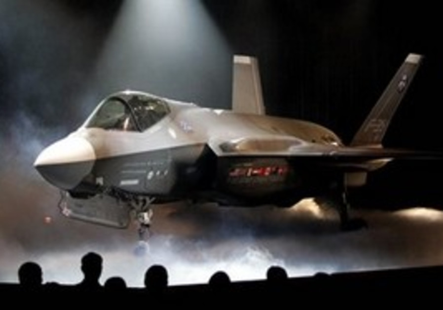 In this July 7, 2006 file photo, the Lockheed Martin Joint Strike Fighter is shown after it was unve