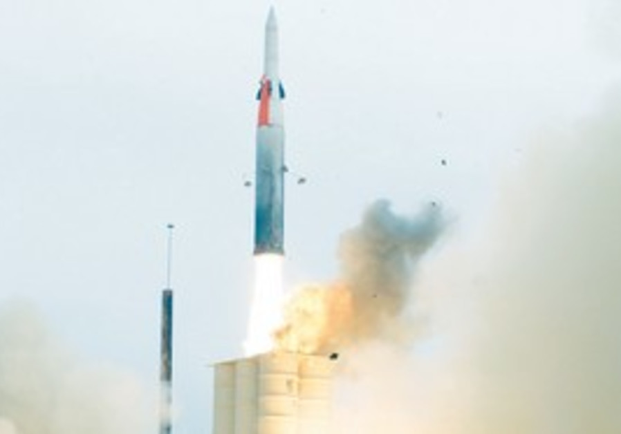 The Arrow 3 missile defense system