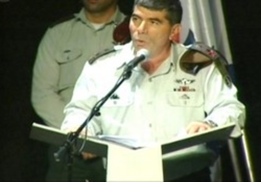 IDF Chief of General Staff Lt.-Gen. Gabi Ashkenazi speaks publicly for the first time on Wednesday.
