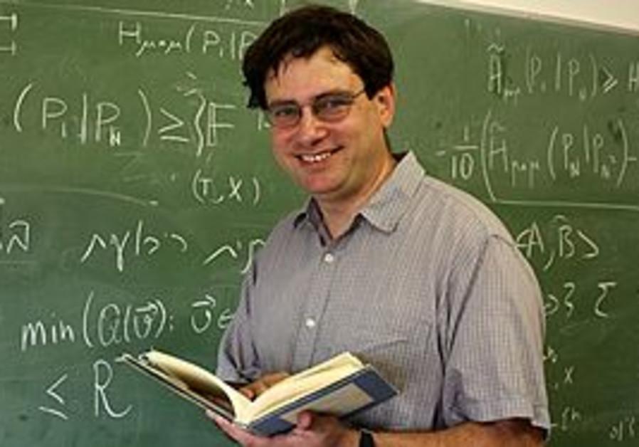 Hebrew U mathematician elon lindenstrauss