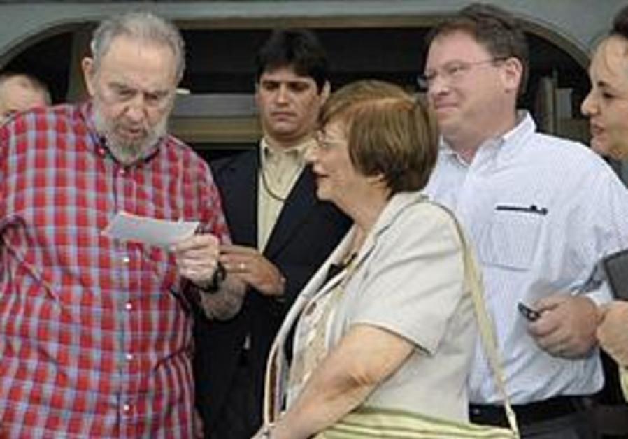 Fidel Castro,US journalist Jeffrey Goldberg