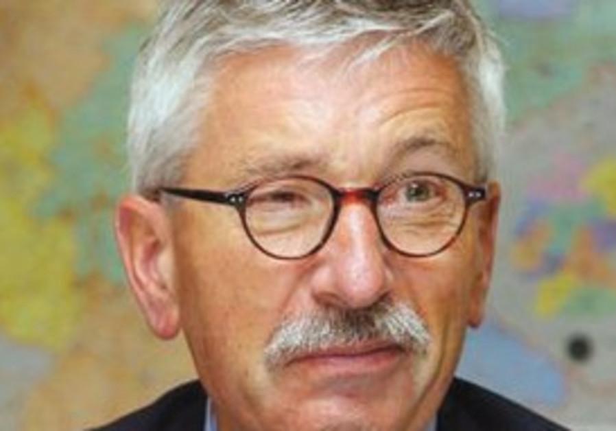 Bundesbank board member Thilo Sarrazin