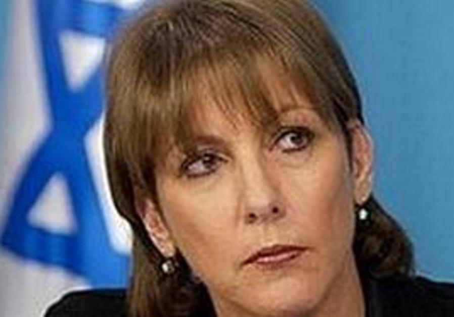 Culture Minister Limor Livnat