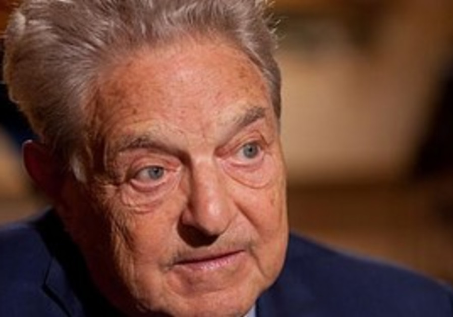 Jewish billionaire and philanthropist George Soros