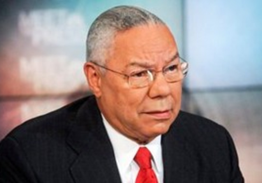 former Secretary of State Gen. Colin Powell, retir