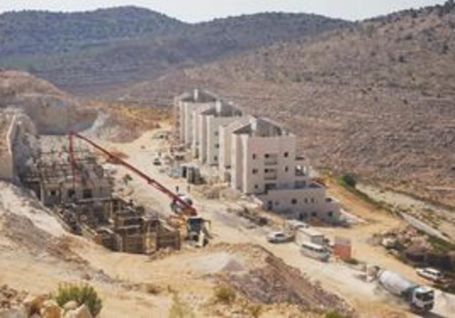 Building at Beitar Illit settlement
