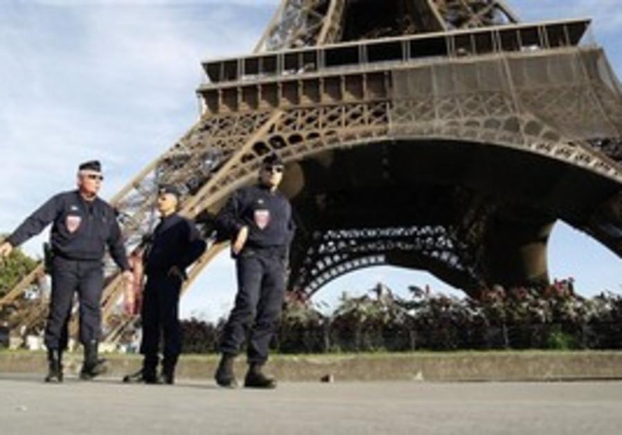 Eiffel Tower Police