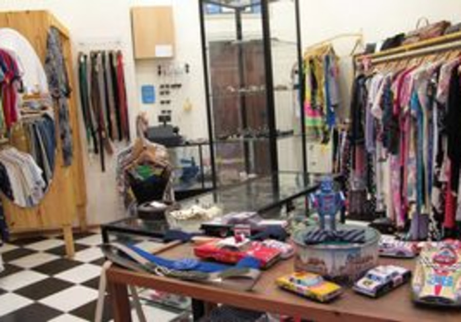 Esther Hayil vintage clothing store