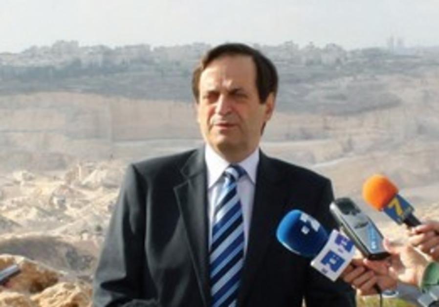 Israel's deputy Prime Minister Dan Meridor