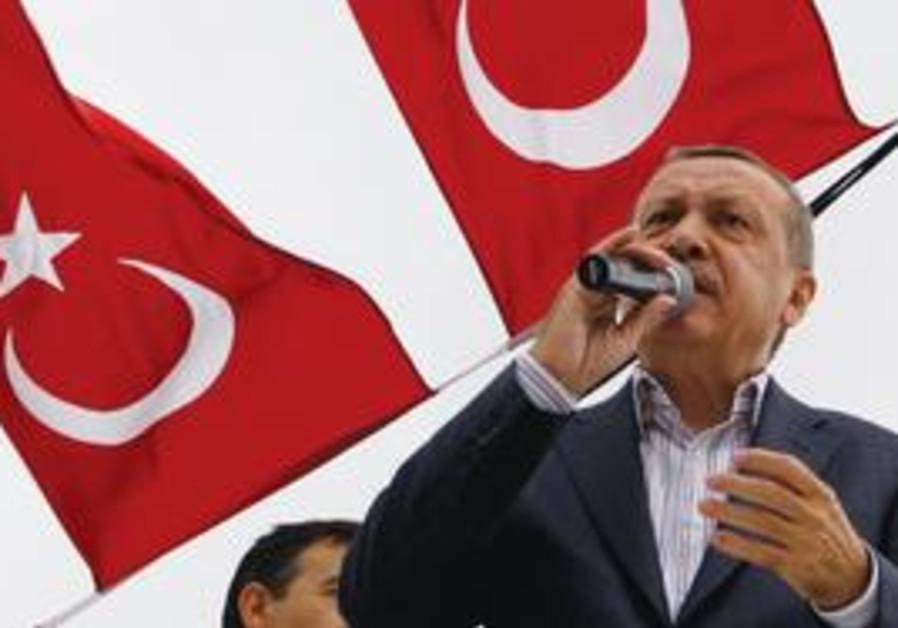 Erdogan flag
