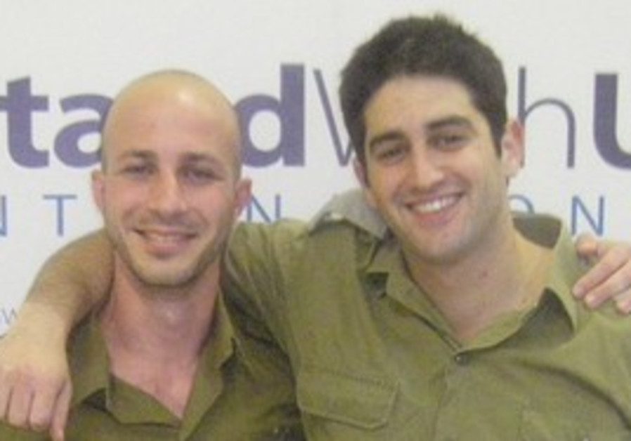 Inon Tagner (left) and Lior Prosor.