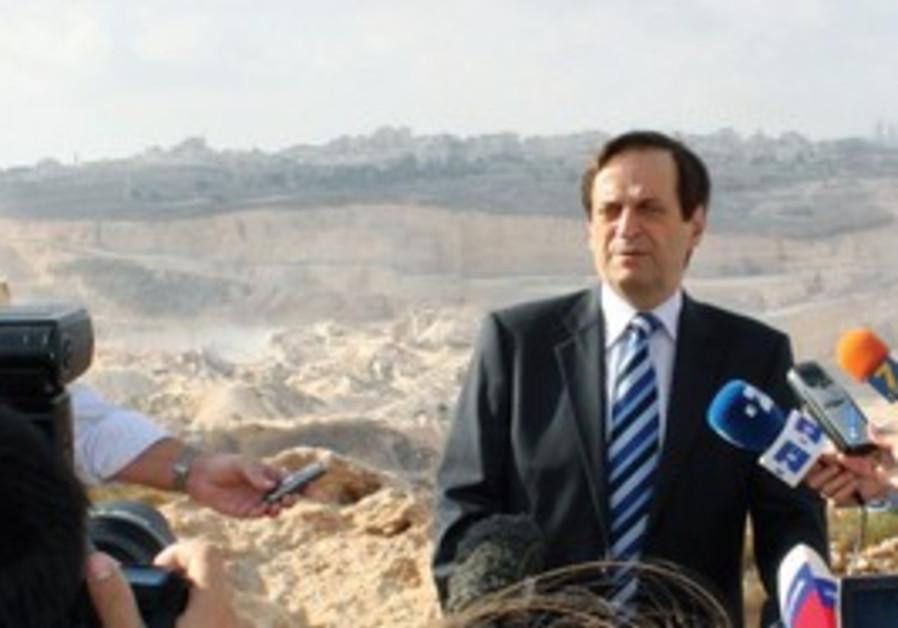 Dan Meridor Ramallah Quarry