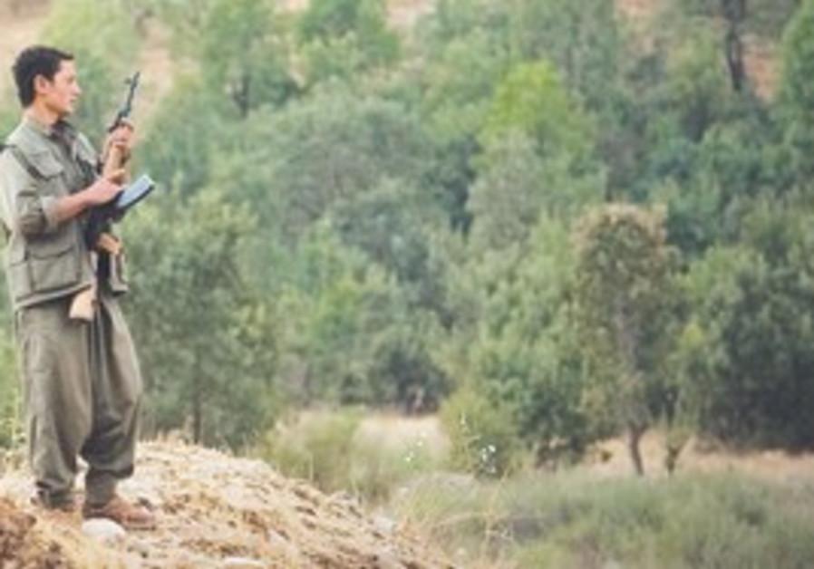 PKK Kurdish Rebel