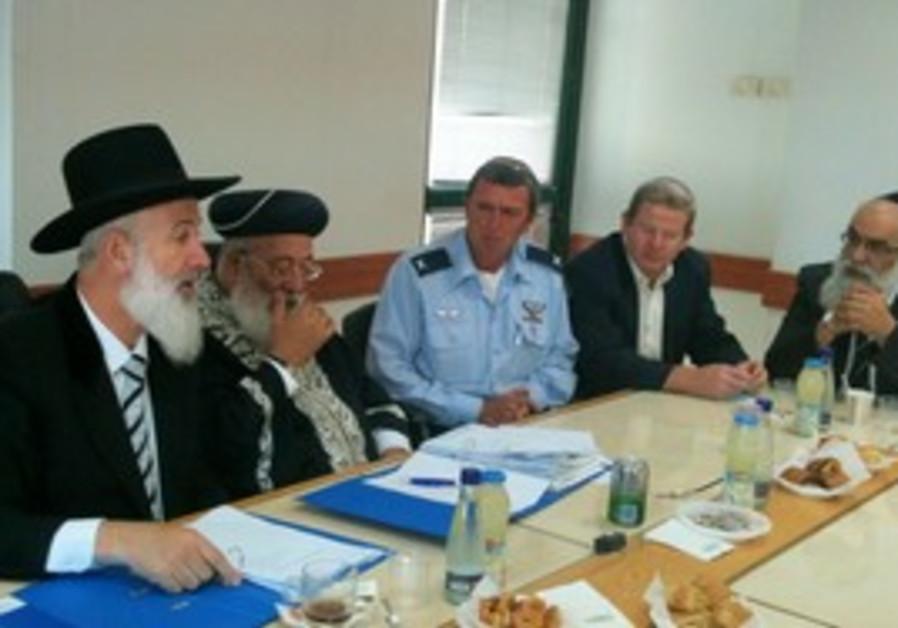 Cheif Rabbinate meeting