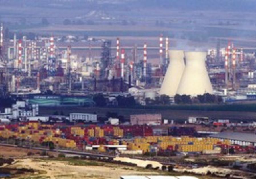 Haifa bay power plant