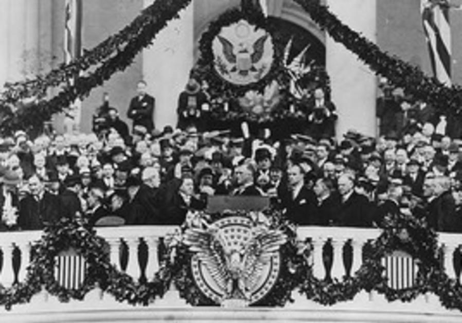 FDR sworn in