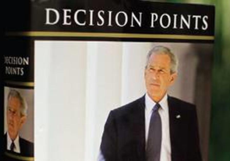 Former US president GW Bush's memoir