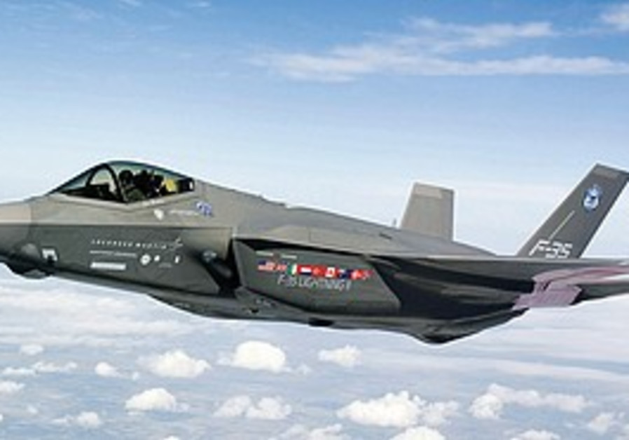 The new F-35 stealth fighter