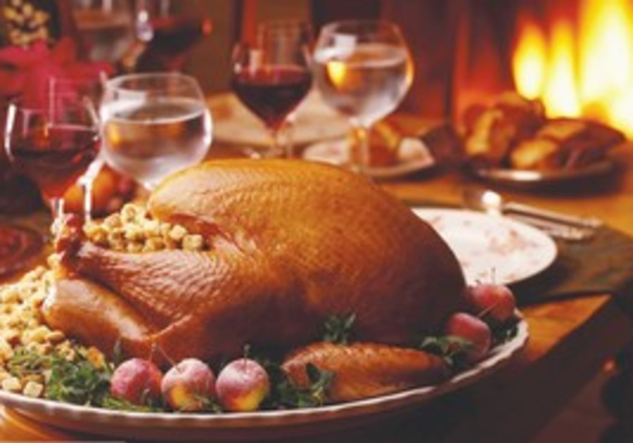 Roast Thanksgiving turkey [illustrative]