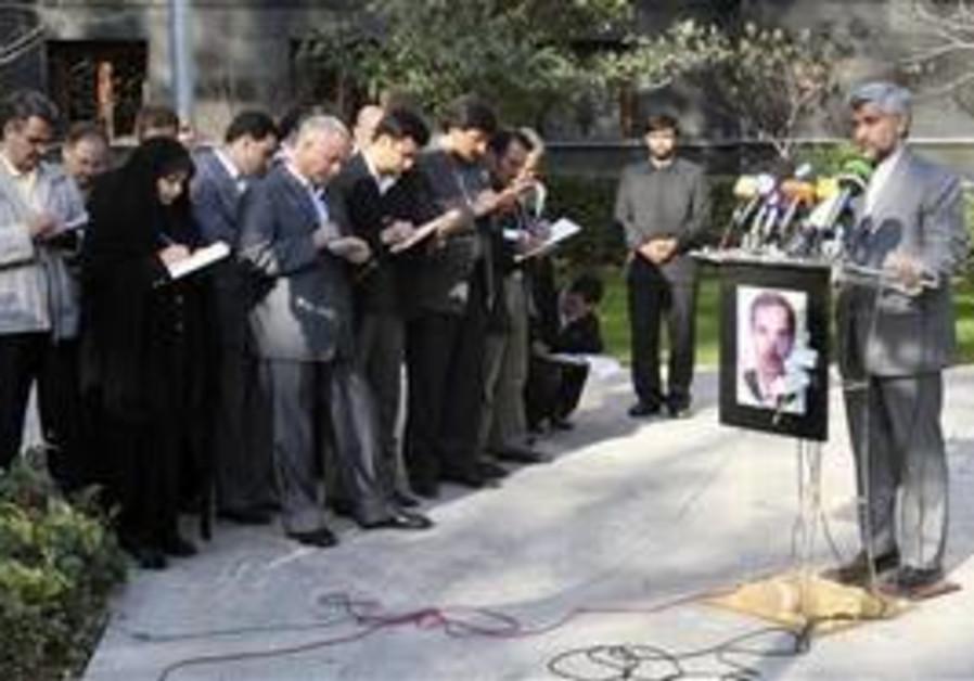 Saeed Jalili, Iran's top nuclear negotiator