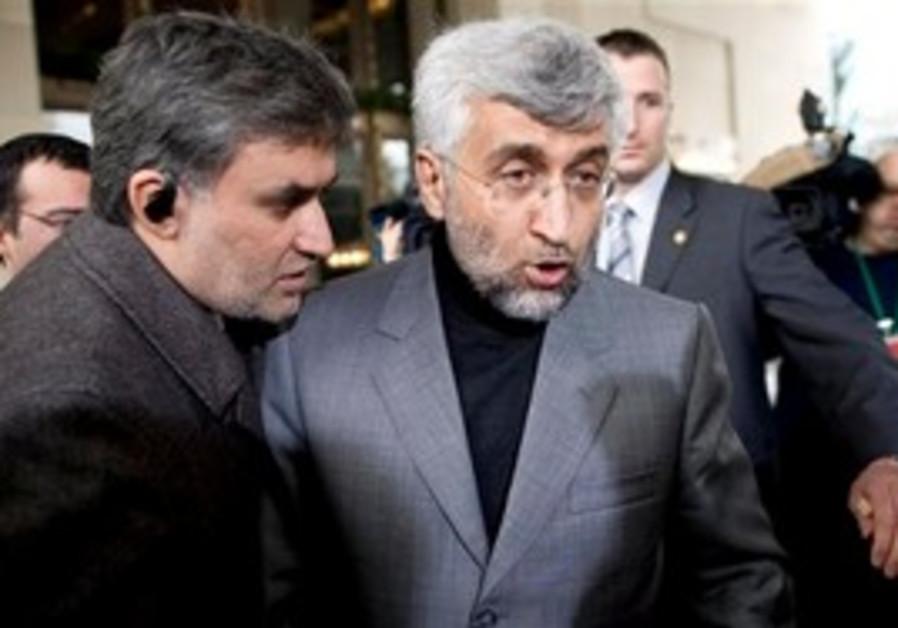 Chief Iranian nuclear negotiator Saeed Jalili