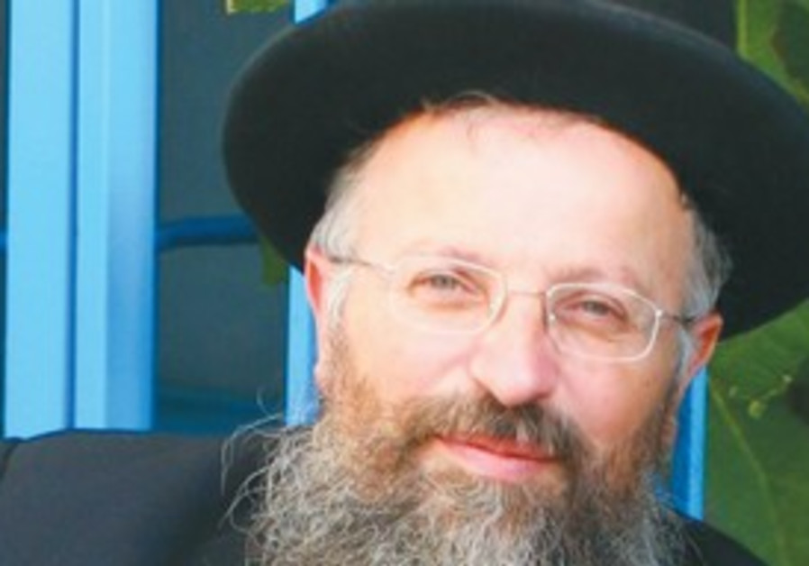 SAFED CHIEF Rabbi Shmuel Eliyahu