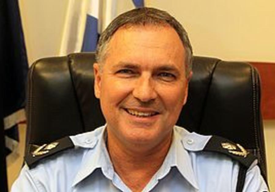 New police chief Yochanan Danino