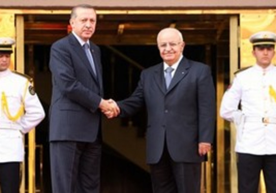 Erdogan, left, and his Syrian counterpart