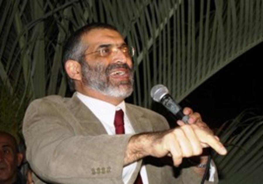MK Michael Ben-Ari in Hatikva neighborhood