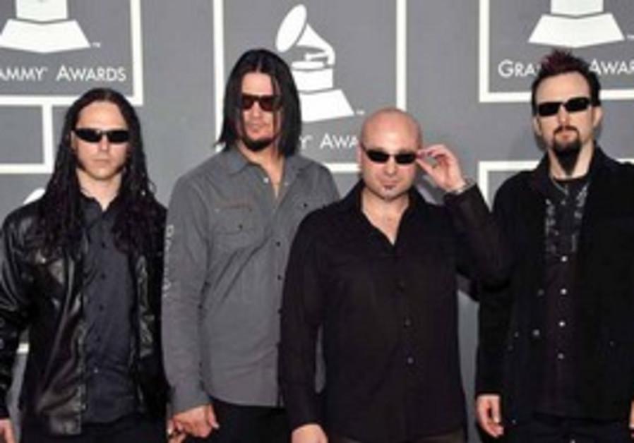 Disturbed with lead vocalist David Draiman