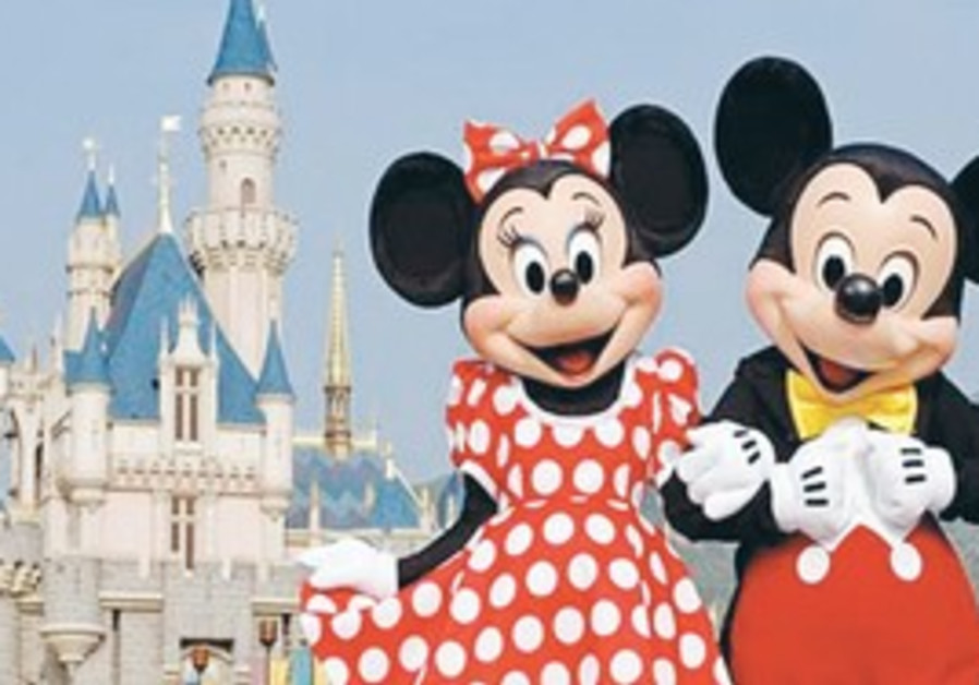 Disney's Mickey and Minnie Mouse.