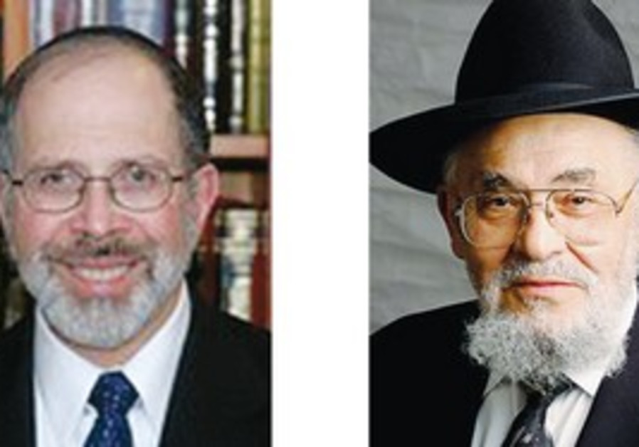 Rabbi Shmuel Goldin & Rabbi Dr. Moshe D. Tendler