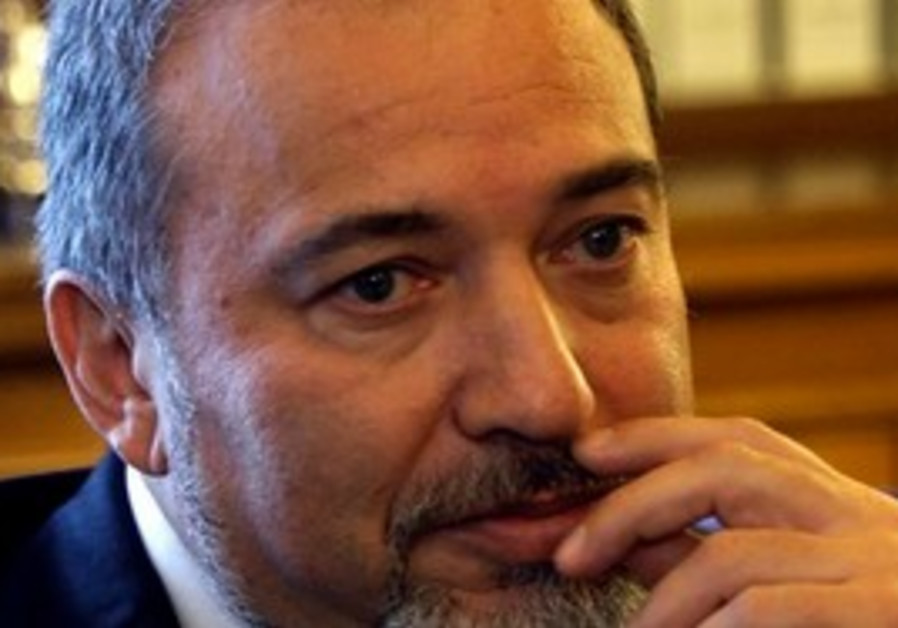 Foreign Minister Avigdor Lieberman