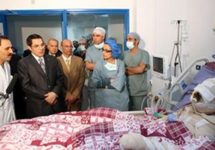 Man who set himself ablaze in Tunisia