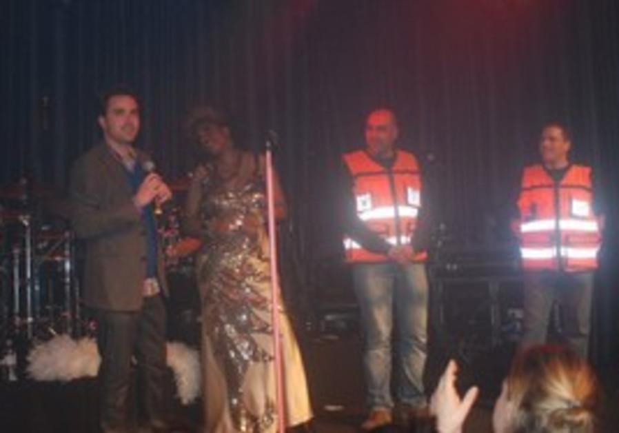 Macy Grey at Tel Aviv concert