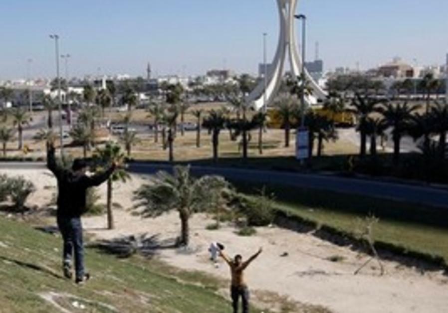Joyful protesters return to Pearl Square, Manama