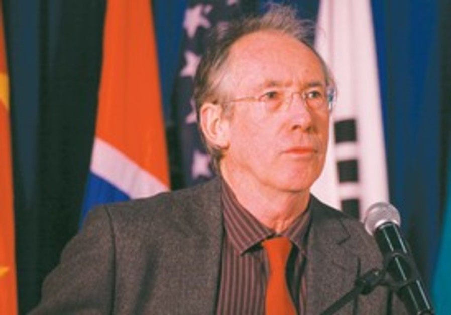 Ian McEwan receives Jerusalem Prize