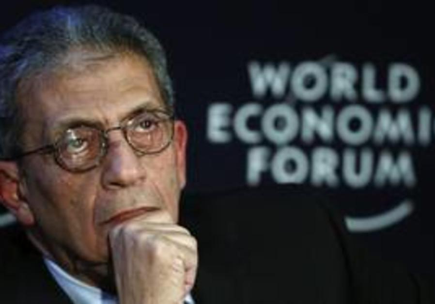 Amr Moussa at World Economic Forum