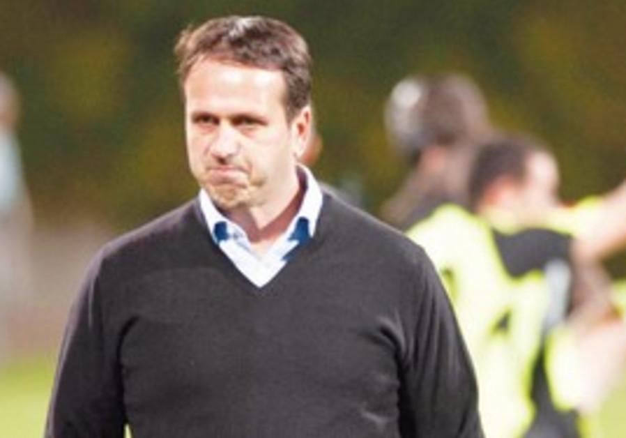 Betar Jerusalem coach Roni Levy